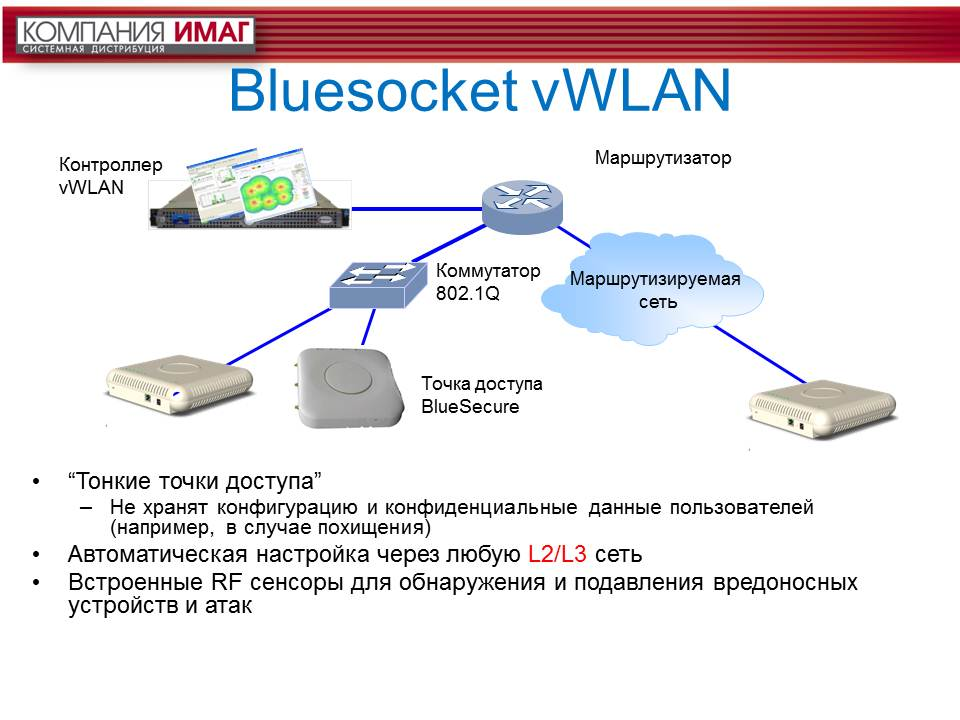 О компании BlueSocket